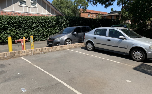 Outdoor lot parking on Rosalind Street in Cammeray NSW