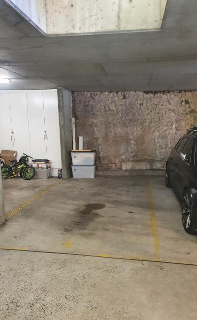 Indoor lot parking on Roslyn Gardens in Elizabeth Bay New South Wales