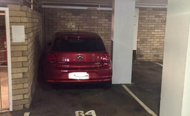 Undercover parking on Roslyn Gardens in Elizabeth Bay