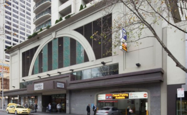 Indoor lot parking on Russell Street in Melbourne Victoria