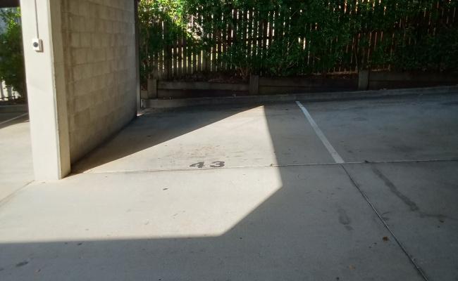 Lock up garage parking on Scott Road in Herston QLD
