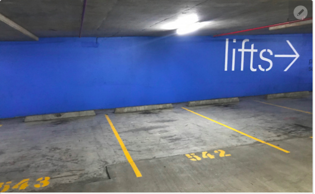 Indoor lot parking on Sergeants Lane in St Leonards New South Wales