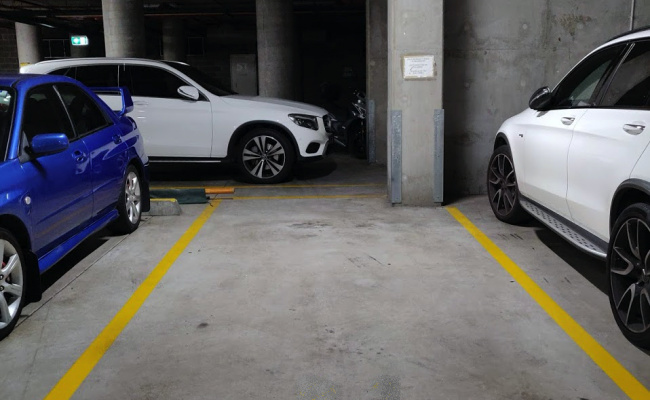 Undercover parking on Shelley Street in Sydney Central Business District New South Wales