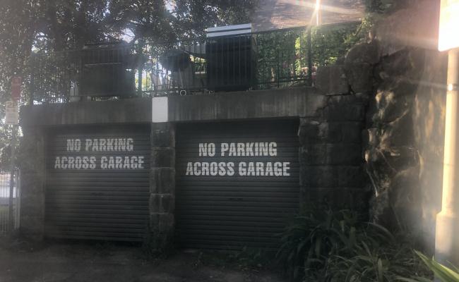 Lock up garage parking on Sherbrooke Avenue in Double Bay NSW