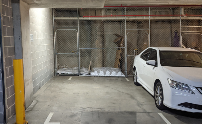 Indoor lot parking on Shoreline Drive in Rhodes New South Wales