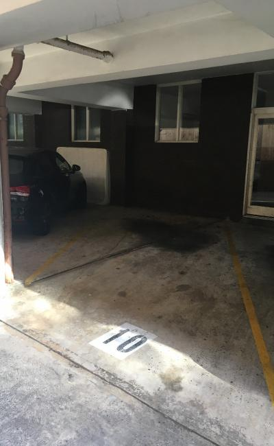 Carport parking on Simpson Street in Bondi Beach