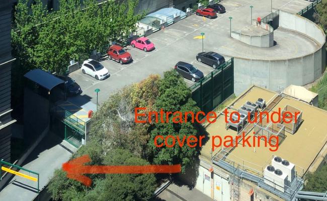 Indoor lot parking on Spencer Street in Docklands VIC