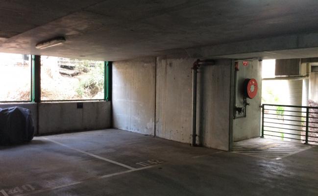 Undercover parking on Spencer Street in Melbourne