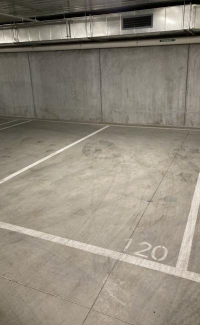 Indoor lot parking on Spencer Street in West Melbourne Victoria