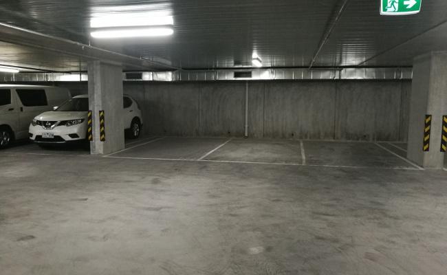 Indoor lot parking on Spencer Street in West Melbourne Victoria 3003