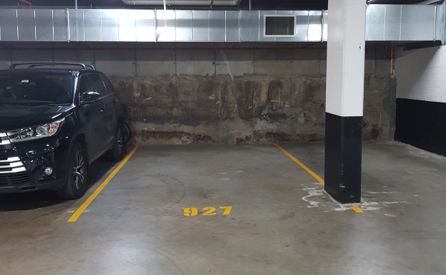 Indoor lot parking on Spring St in Rosebery