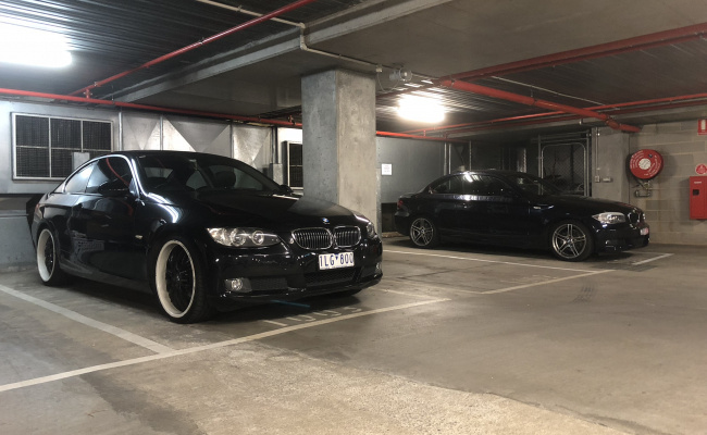Secure Parking spot in basement on Stkilda Rd