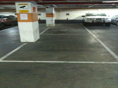 2 Tandem car parks on St. Kilda Rd - Great Value
