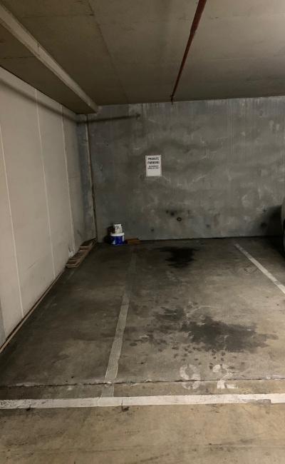 Indoor lot parking on St Kilda Rd in St Kilda