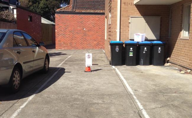 Outside parking on Wheatland Road in Malvern