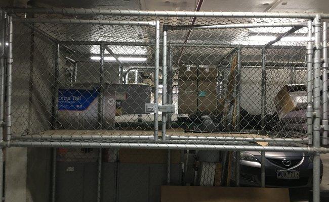 Underground Storage Cage in Collingwood