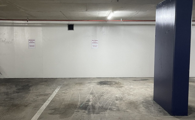 Great Indoor Parking Space near CBD-with secure swipe access