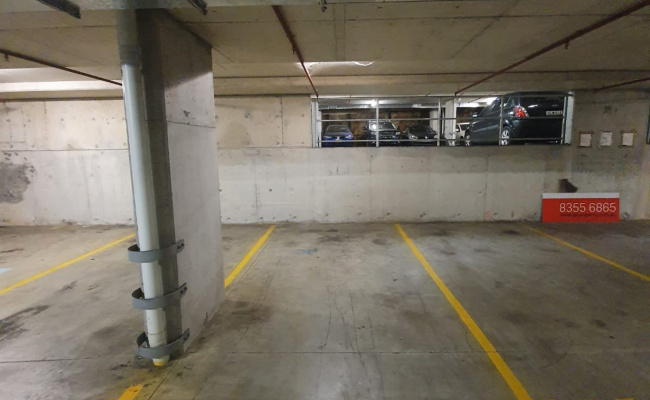 Covered Indoor parking space opposite to Kogarah Station.