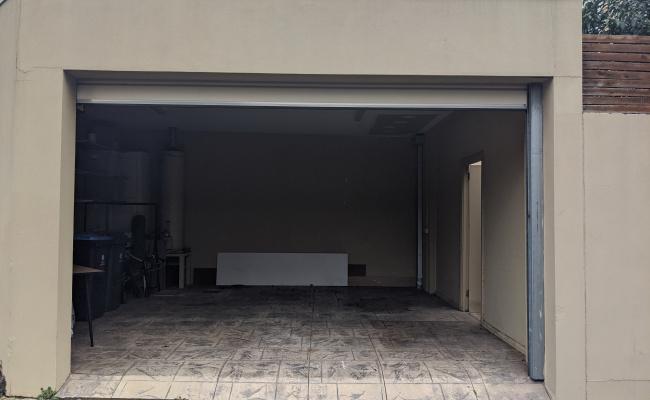 Lock up garage parking on Surrey Road in South Yarra Victoria