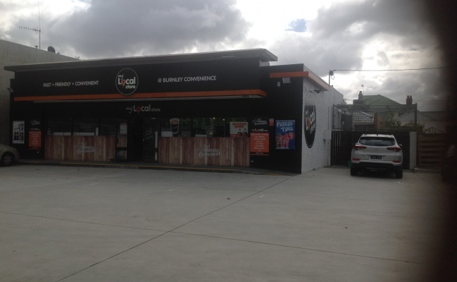 Outdoor lot parking on Swan Street in Richmond VIC