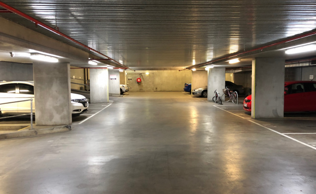 Indoor lot parking on Swanston St in Carlton VIC 3053