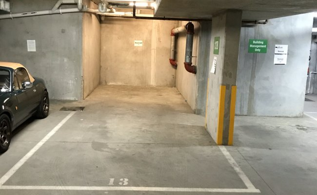 Great Opportunity Double Parking Space At Swanston