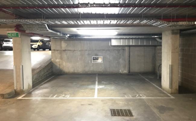 Undercover parking on Swanston Street in Carlton