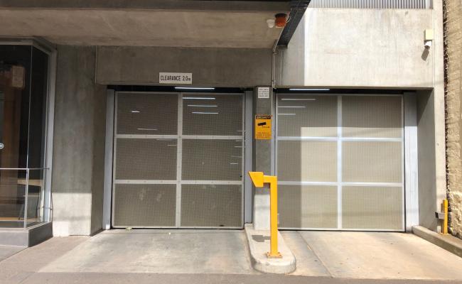 Indoor lot parking on Swanston Street in Carlton Victoria 3053