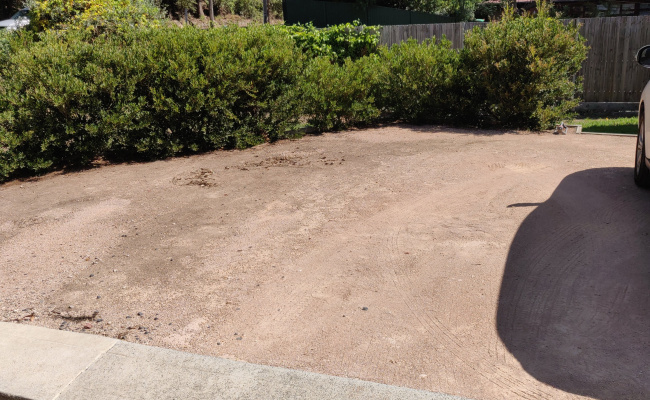 Driveway parking on The Esplanade in Thornleigh New South Wales