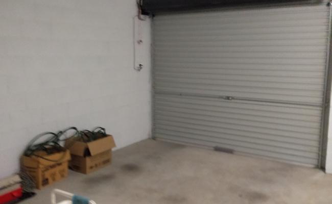 Lock up garage parking on Theodore Street in Stafford