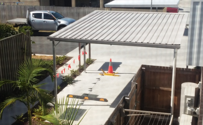 Carport parking on Thistledome Street in Morayfield QLD