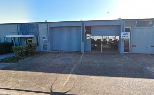 Indoor lot parking on Thompson Street in Bowen Hills Queensland