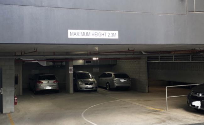 Indoor lot parking on Thorn Street in Kangaroo Point Queensland