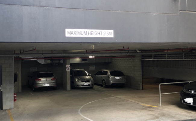 Undercover parking on Thorn Street in Kangaroo Point Queensland