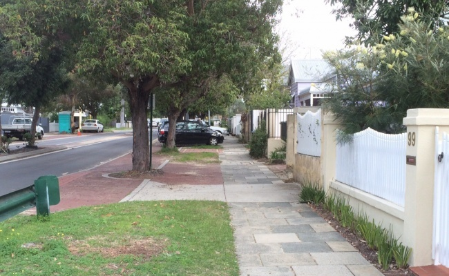 Outside parking on Townshend Road in Subiaco