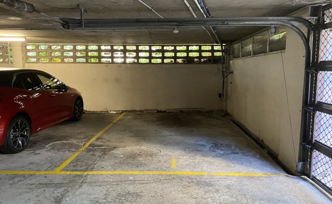 Secure and spacious parking in upper pitt street