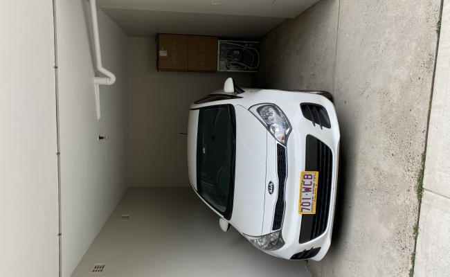 Undercover parking on Upper Pitt Street in Kirribilli