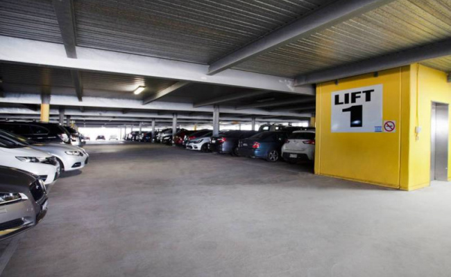 Indoor lot parking on Veron St in Wentworthville