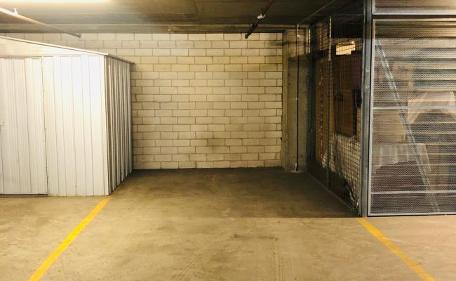 Potts Point - Secure Underground Parking near Kings Cross Station