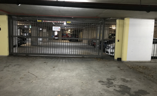 Indoor lot parking on Victoria Street in Potts Point New South Wales