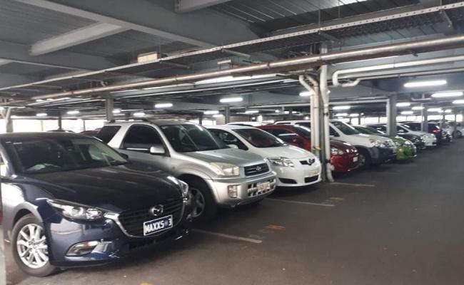 Indoor lot parking on Wakefield Street in Adelaide South Australia