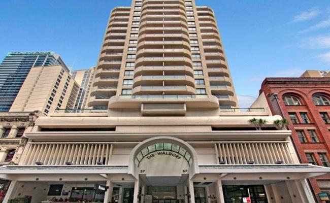 Sydney CBD - Secured Indoor Parking in Waldorf Apartments