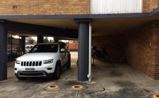 Undercover parking on Warners Avenue in Bondi Beach