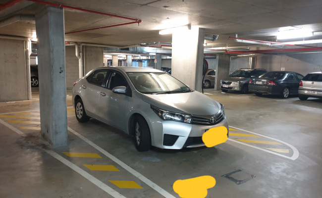 Undercover parking on Water Street in Fortitude Valley QLD