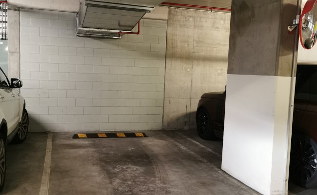 Indoor lot parking on Waterside Place in Docklands Victoria