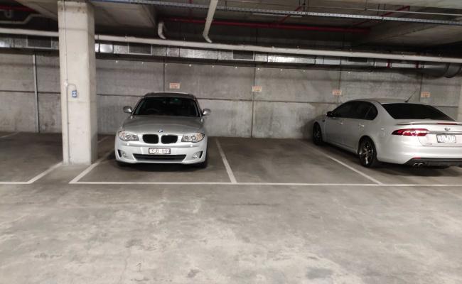 Indoor lot parking on Waterview Walk in Docklands
