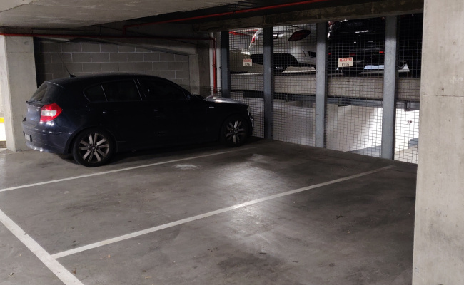 Indoor lot parking on Waterview Walk in Docklands