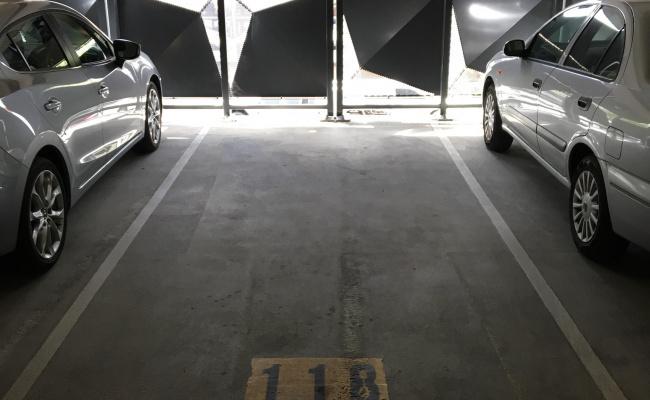 Indoor lot parking on West Row in City Australian Capital Territory