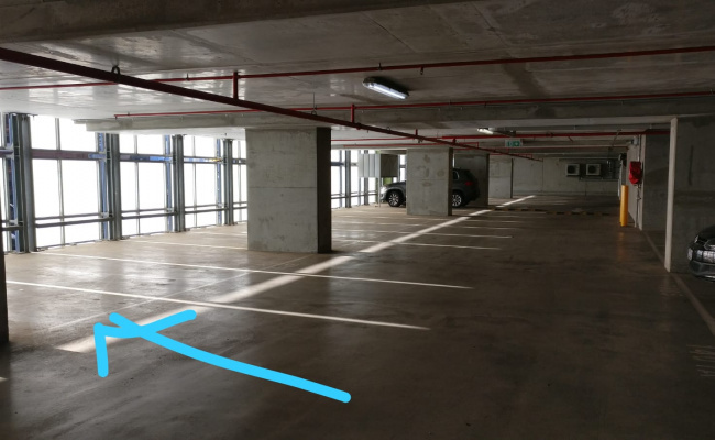 Indoor lot parking on Whiteman Street in Southbank Victoria