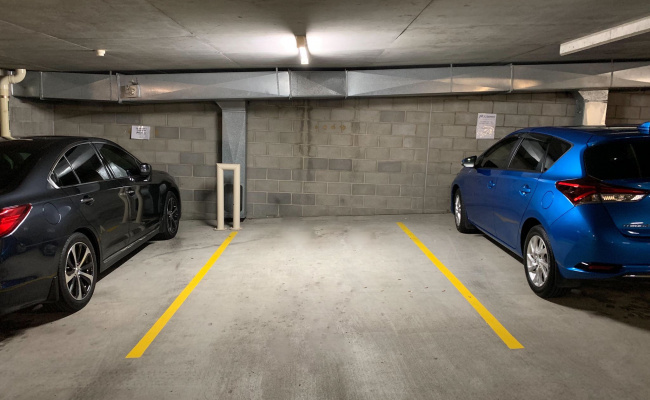 Indoor lot parking on Wickham Terrace in Spring Hill